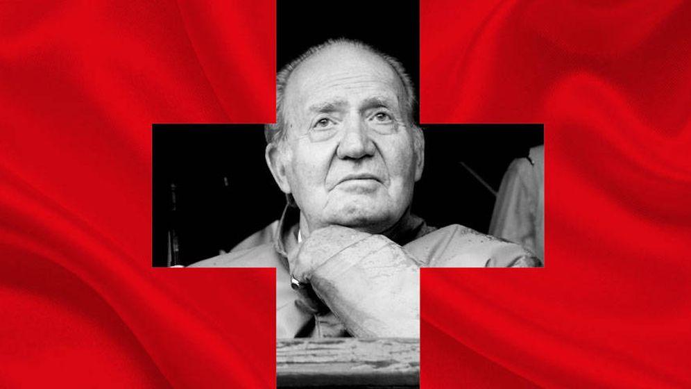 Foto: El Rey Juan Carlos en un fotomontaje realizado por Vanitatis.