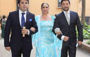 Foto: Isabel Pantoja en la boda de la hija de su médico