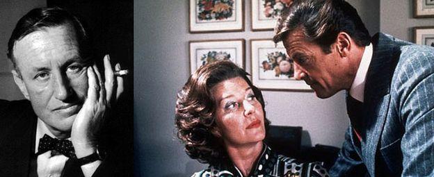 Foto: Ian Fleming y la 'verdadera' señorita Moneypenny