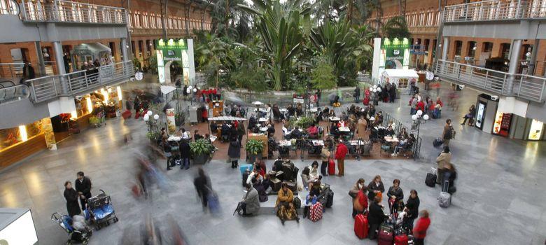 Foto: Interior de la estación de Atocha
