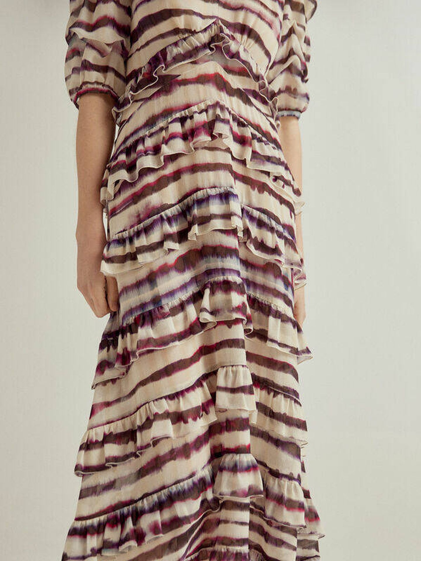 El vestido de Pedro del Hierro. (Cortesía)
