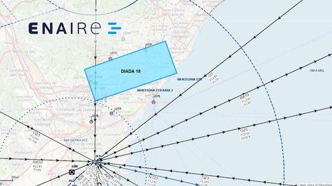 El espacio aéreo estará restringido durante la Diada en el centro de Barcelona