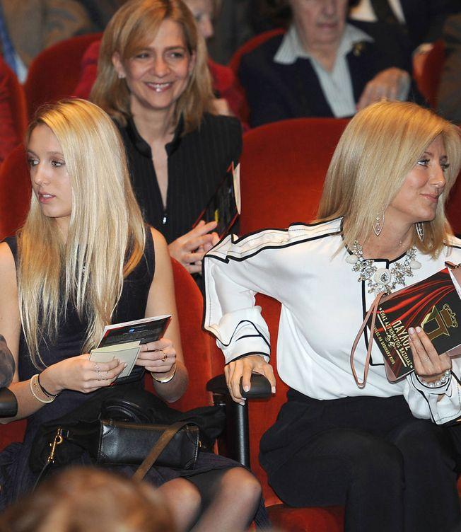 Marie-Chantal junto a la Infanta. (Gtres)