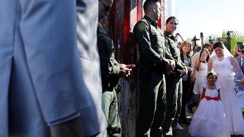 Una boda en la frontera entre EEUU y México