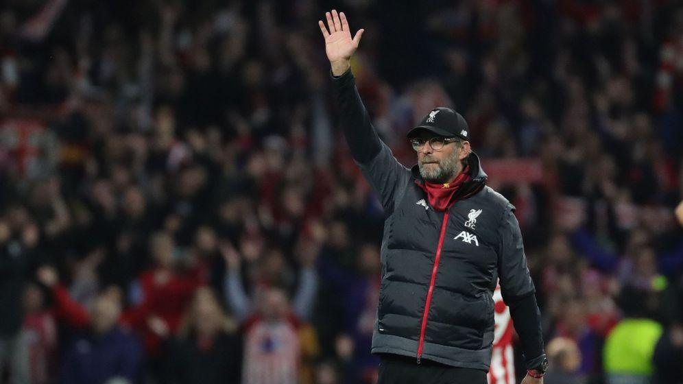 Foto: La respuesta del entrenador del Liverpool a un niño de 10 años se ha hecho viral (EFE/Juanjo Martín)
