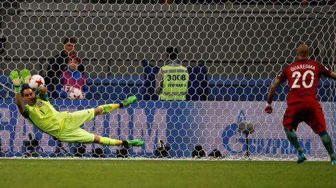 Claudio Bravo frena a Portugal en los penaltis y Chile está en la final