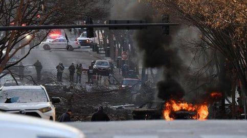Una explosión intencionada en el centro de la ciudad de Nashville deja tres hospitalizados