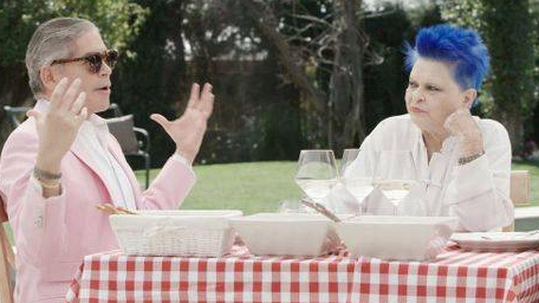 Boris, con Lucía en 'Mi casa es la tuya'. (Mediaset)