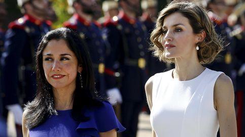 Doña Letizia, una Reina blanca y radiante