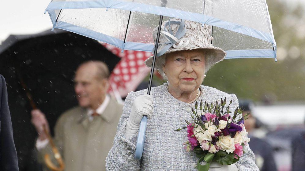 Foto: Isabel II en Londres. (Getty)