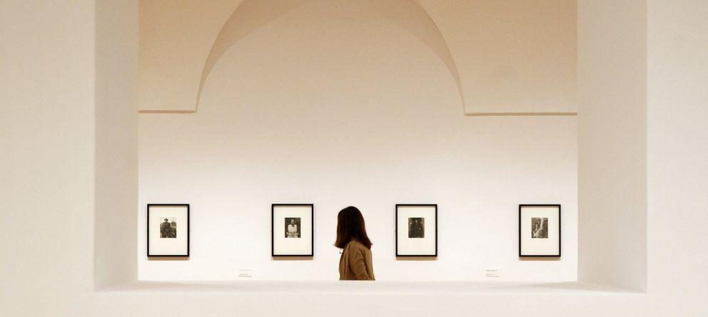 Foto: Exposición del fotógrafo Chris Killip en el Museo Reina Sofía. (Efe)