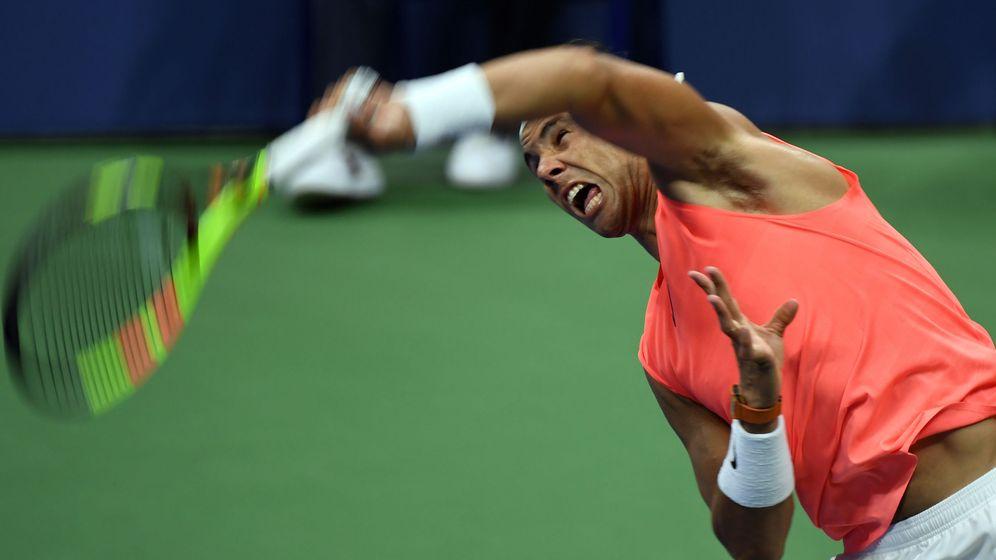 Foto: Rafa Nadal, en el US Open. (Reuters)