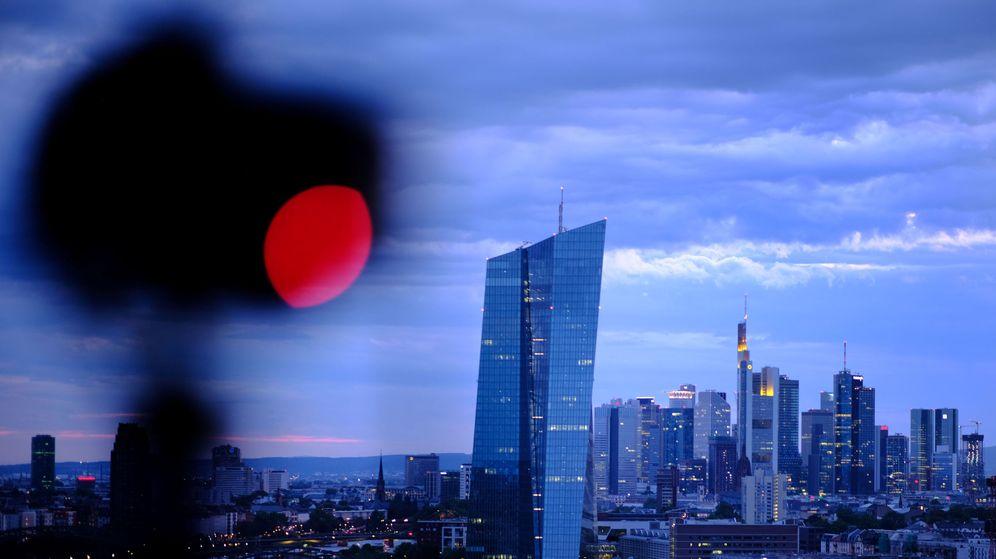 Foto: 'Skyline' de Fráncfort con la sede del BCE. (Reuters)