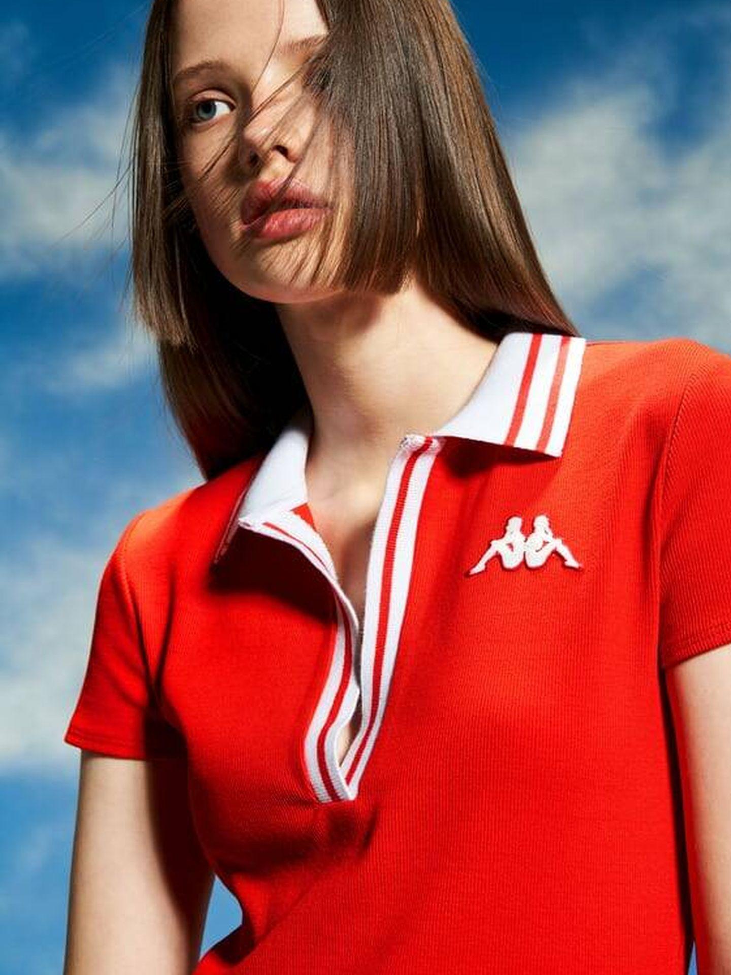 Vestidos de la colaboración de Zara con Kappa. (Cortesía)