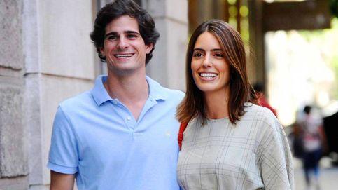 Sofía Palazuelo y el duque de Huéscar, padres de su primera hija, Rosario