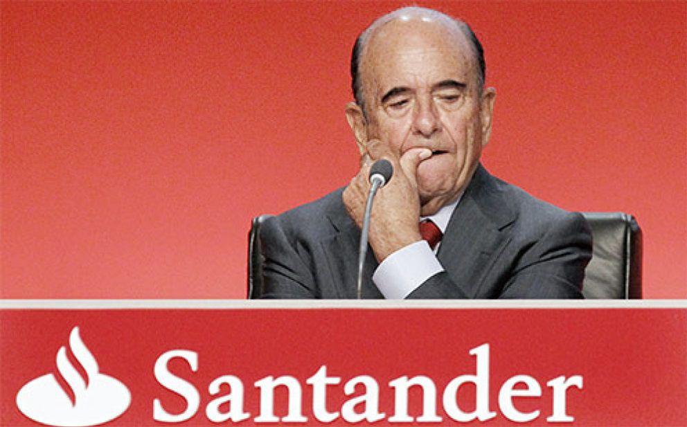 Foto: Banco Santander prepara una limpieza de balance de 5.000 millones