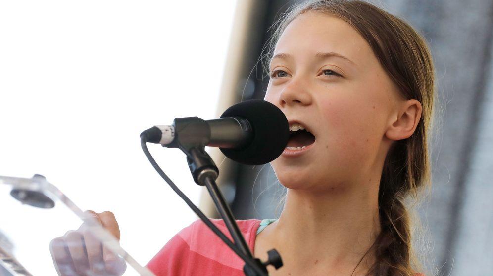 Foto: La activista sueca Greta Thunberg (EFE/EPA/Peter Foley)