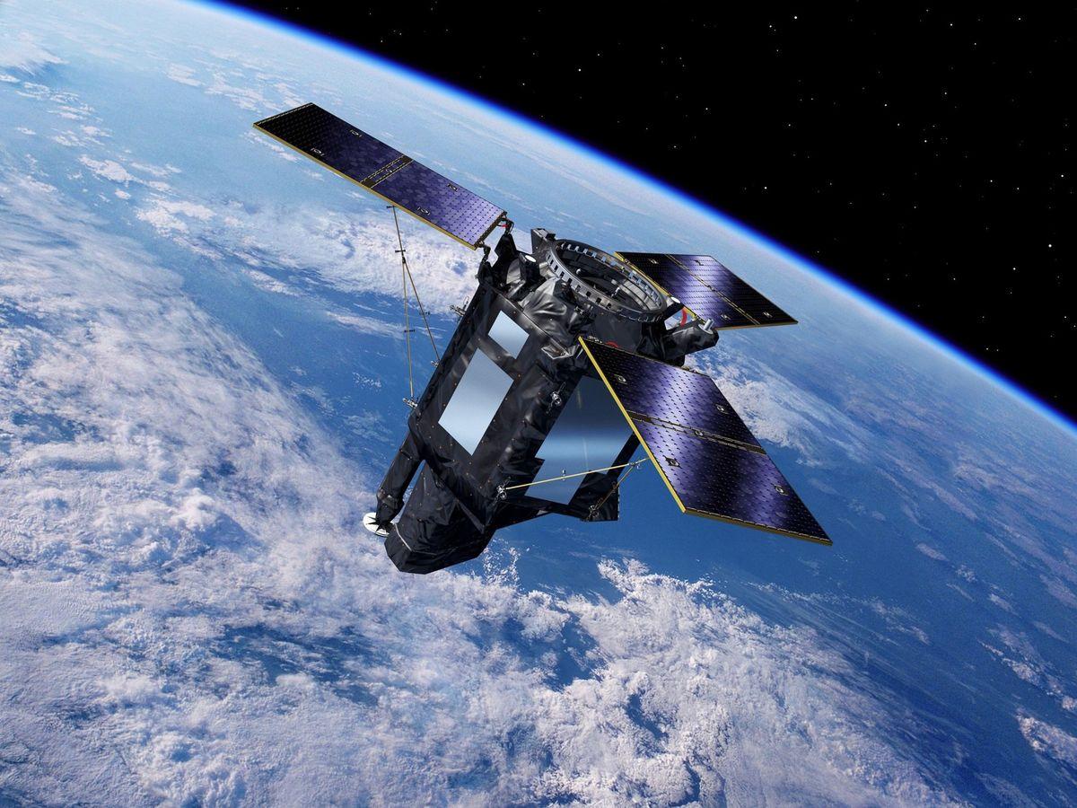 Foto: Ilustración facilitada del satélite español Seosat-Ingenio. (EFE)