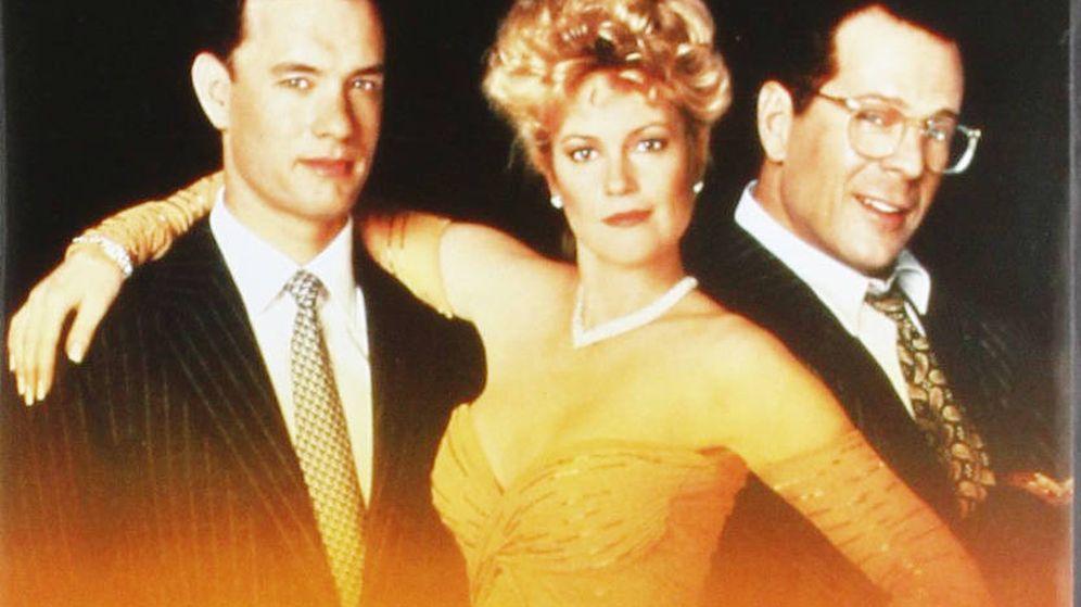 Foto: Detalle del cartel de la película 'La hoguera de las vanidades' (1990).