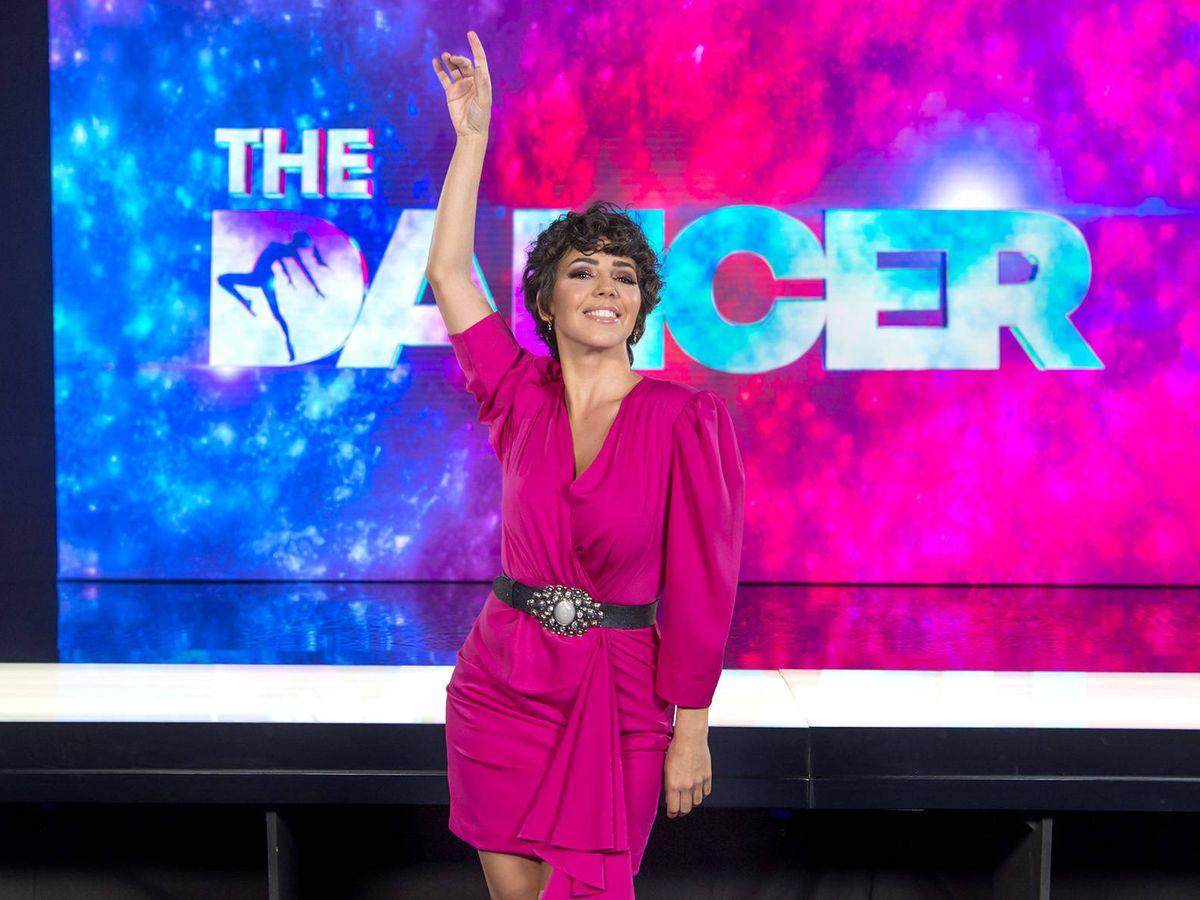 Foto: Sandra Cervera, maestra de ceremonias en 'The Dancer'. (TVE)