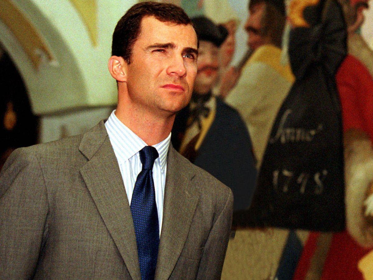 Foto: Felipe, en una foto de 2001. (Getty)