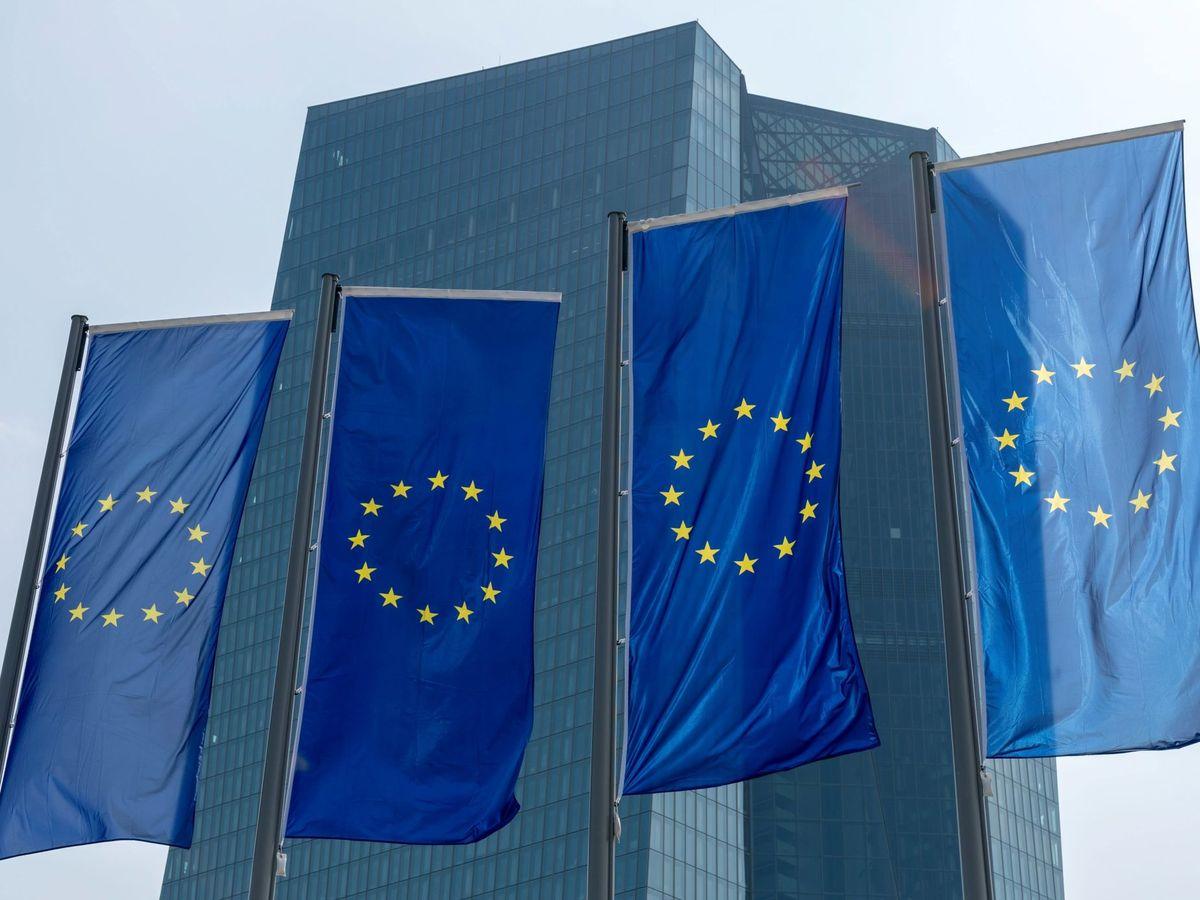 Foto:  Fachada del Banco Central Europeo (BCE) en Fráncfort (EFE)