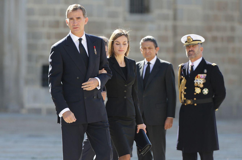 Foto: La realeza se despide del infante Carlos de Borbón Dos Sicilias