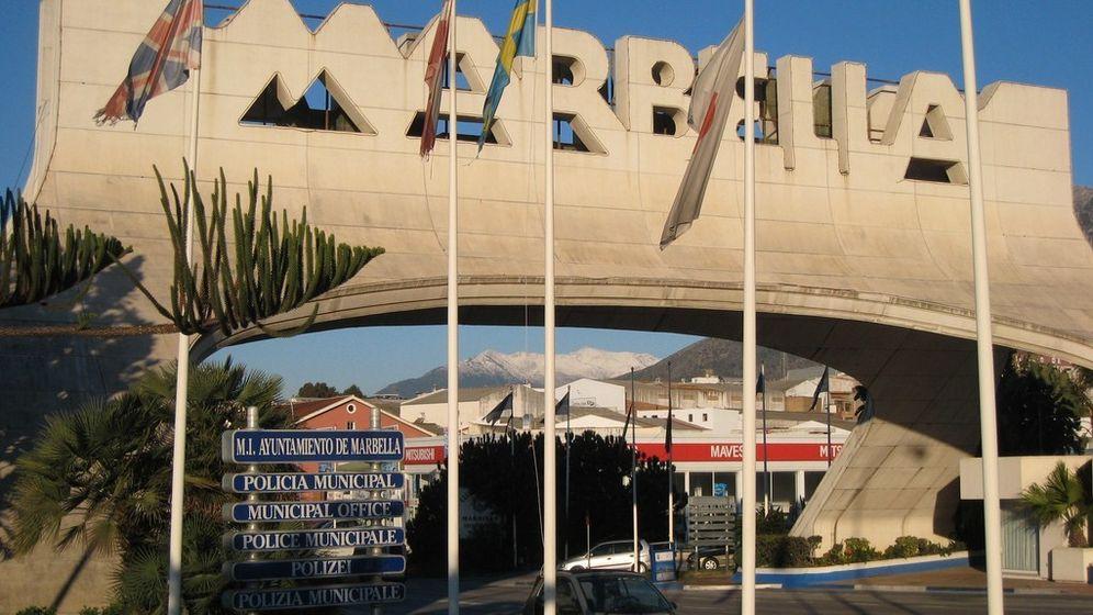 Foto: Imagen del arco de Marbella. (EFE)