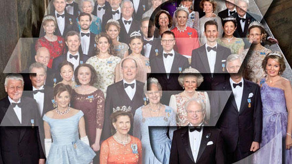 Adivina cuánto cuestan las tiaras que las 'royals' llevaron al cumple de Suecia