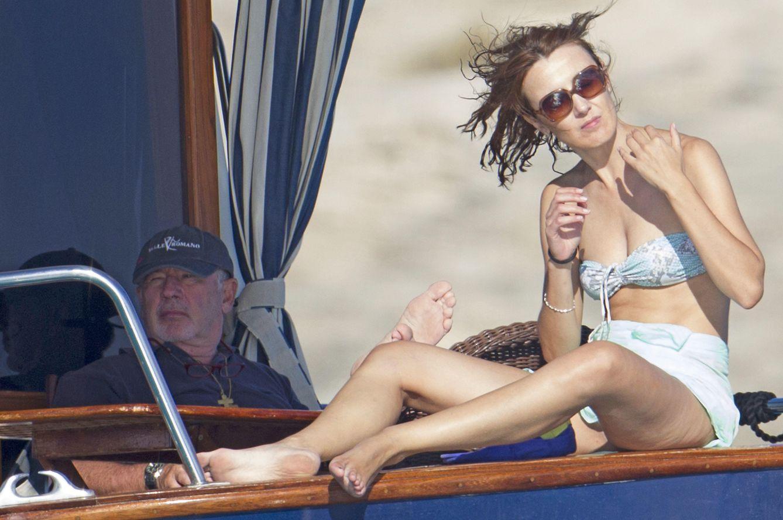 Foto: Rato y su novia en alta mar (Gtres)