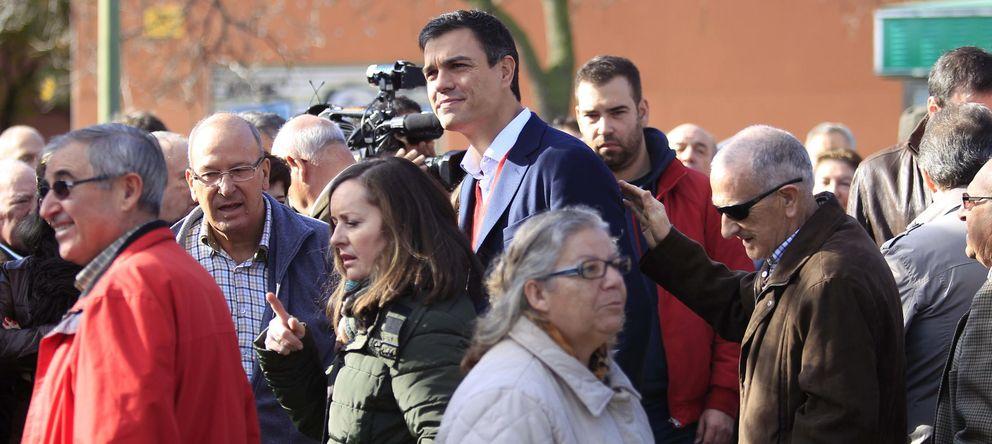 Foto: El líder del PSOE, Pedro Sánchez (EFE)