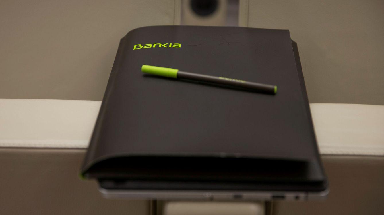 Foto: Cuaderno de Bankia. (Reuters)
