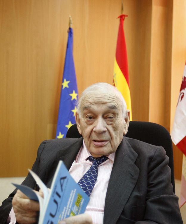 Foto: Blas Calzada, presidente del Comité Asesor Técnico del Ibex. (EFE)