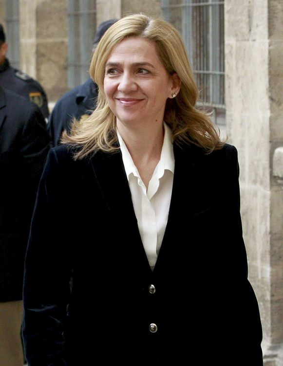 Foto: Fotografía de archivo de la infanta Cristina. (EFE)