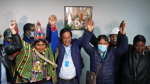 Sondeos preliminares dan la victoria al candidato del partido de Evo en Bolivia