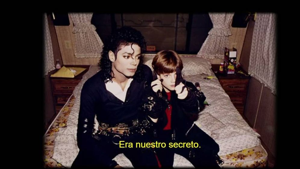 Foto: Michael Jackson y James Seifchuck a finales de los 80. (Movistar )