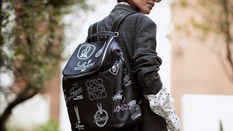 Amor por Loewe en esta mochila. (Imaxtree)