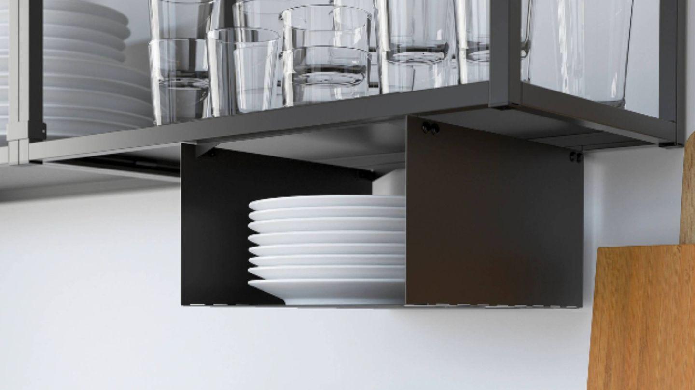 Soluciones de Ikea para ganar espacio en una cocina pequeña. (Cortesía)