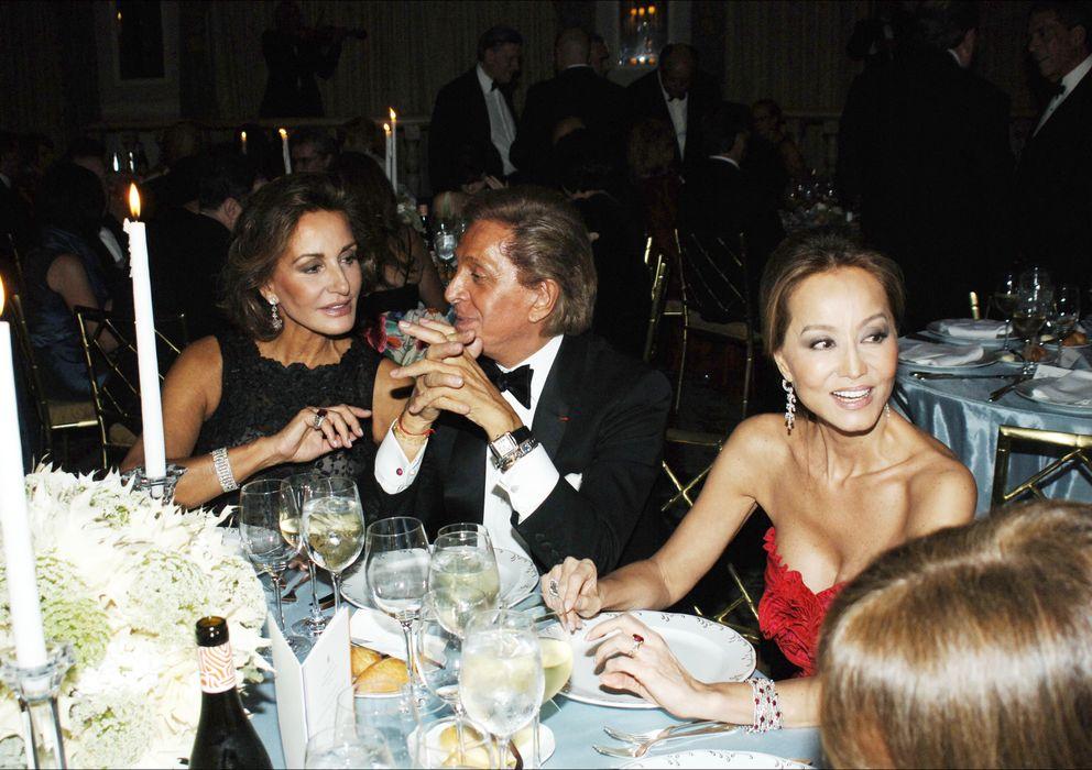 Foto: Naty Abascal, Valentino e Isabel Preysler, en una imagen de archivo (I.C.)