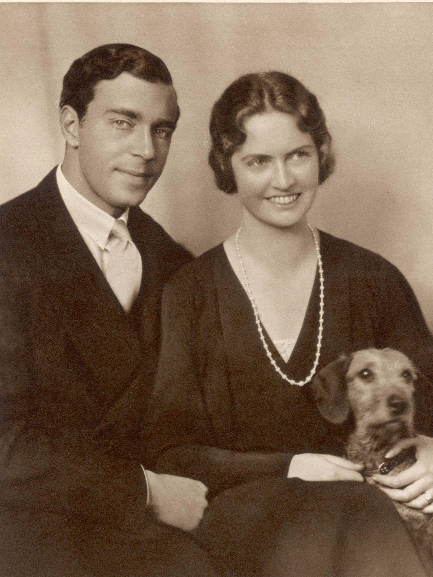 El príncipe Gustavo Adolfo y su mujer, la princesa Sibila. (Cordon Press)