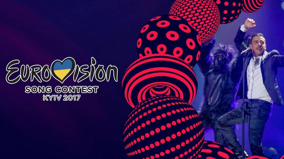 Foto: Francesco Gabanni, el favorito para ganar el Festival de Eurovisión 2017.