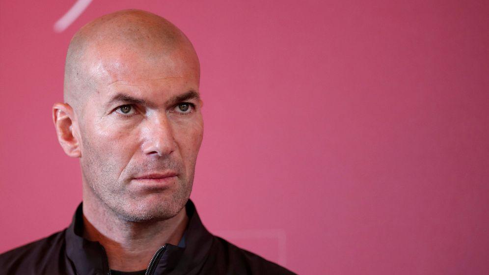 Foto: Zinedine Zidane ha puesto tres condiciones para fichar por el Chelsea (Foto: Benoit Tessier)