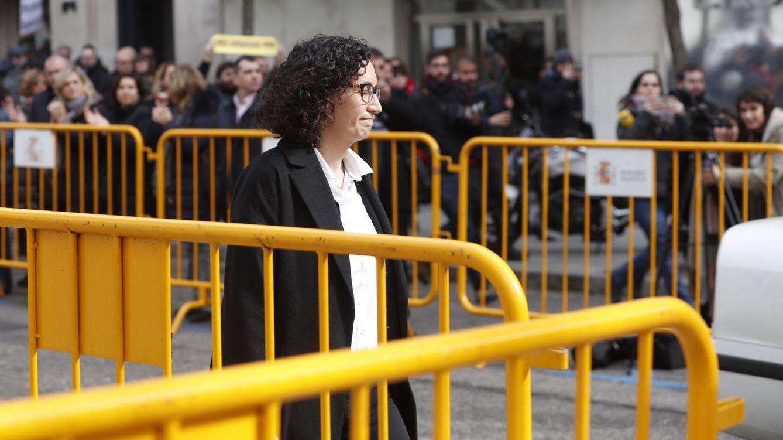 Foto: Marta Rovira y Marta Pascal declaran en el Tribunal Supremo