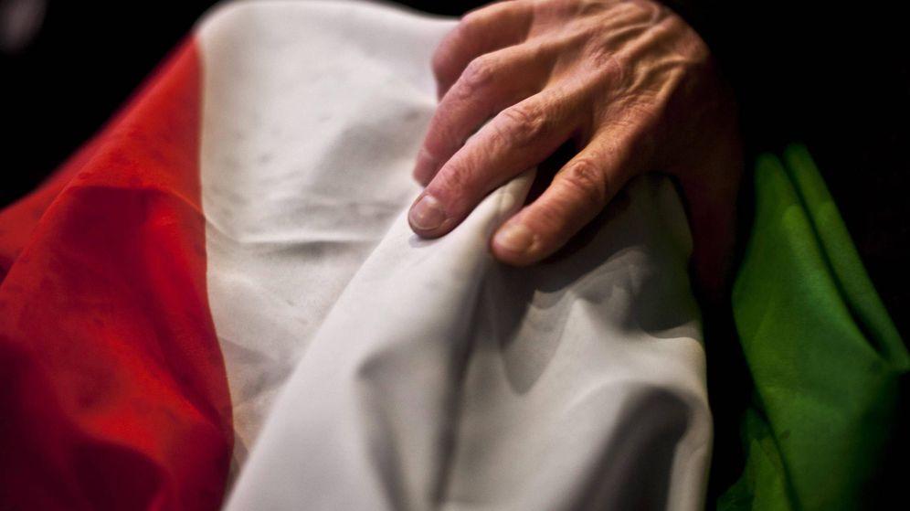 Foto: Bandera de Italia.