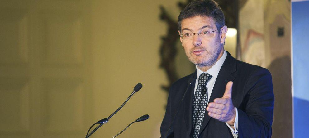 Foto: El ministro de Justicia, Rafael Catalá (EFE)