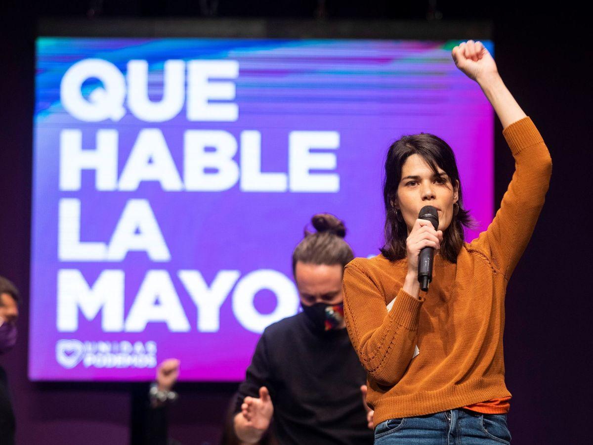 Foto: La portavoz de Podemos, Isa Serra. (EFE)