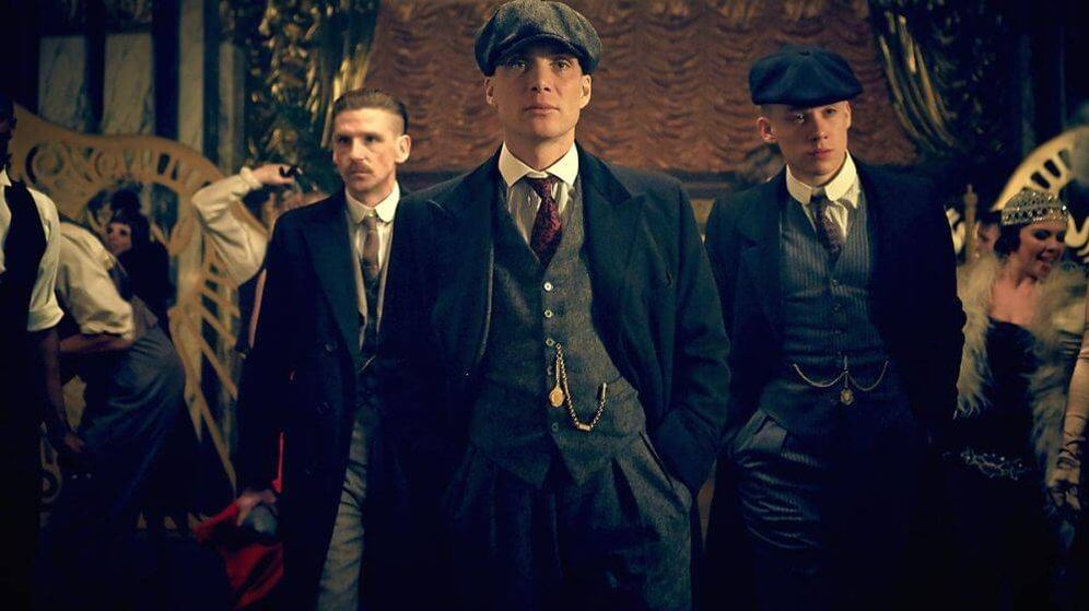 Foto: Imagen de 'Peaky Blinders', protagonizada por Cillian Murphy (en el centro).