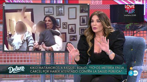 ¡Sinvergüenza!: Raquel Bollo, lapidada en el 'Deluxe' por saltarse las medidas anticovid