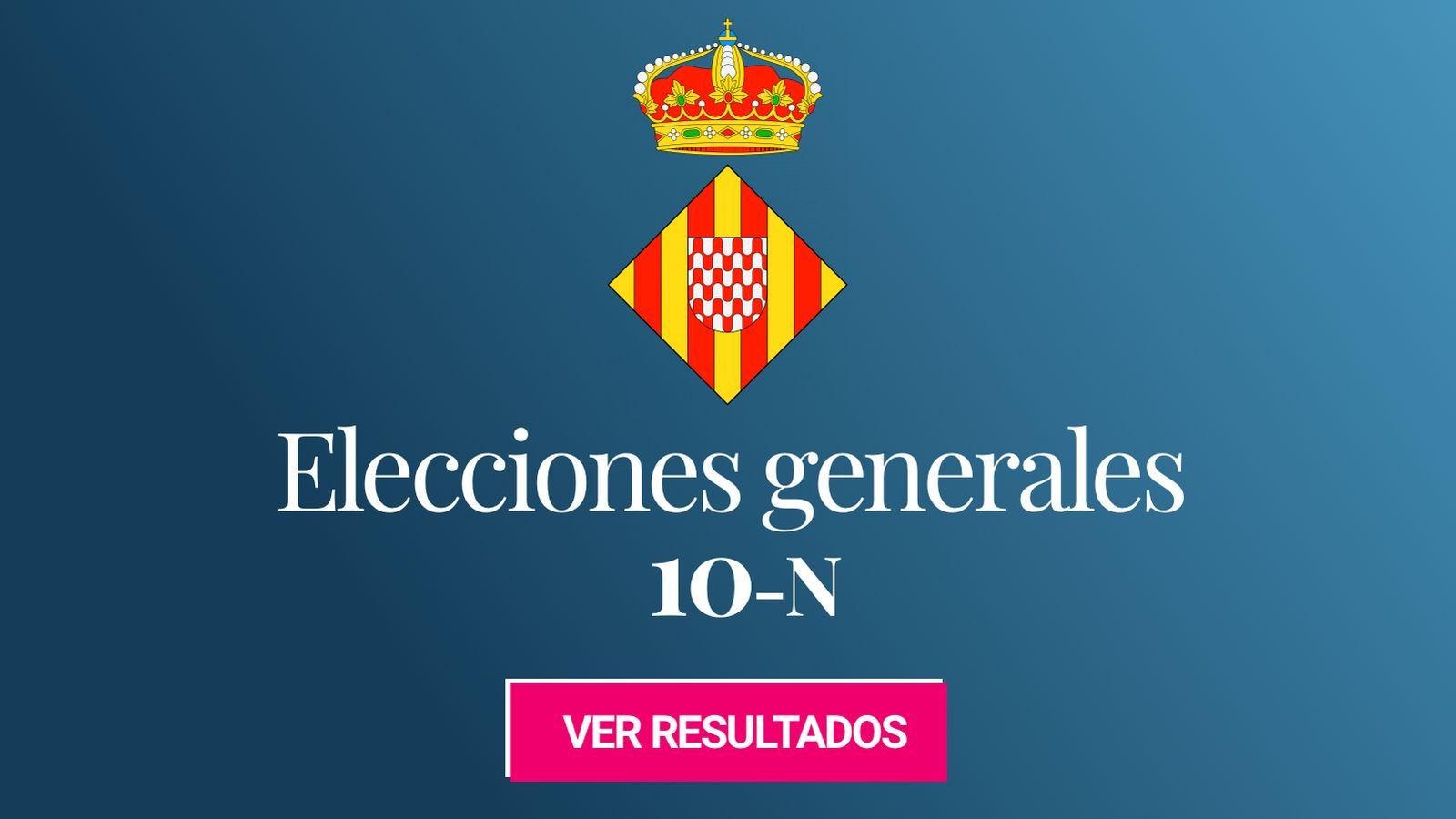 Foto: Elecciones generales 2019 en Girona. (C.C./EC)