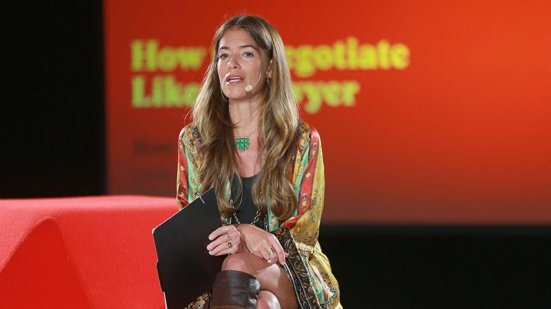 Laura Wasser en una presentación. (Getty)